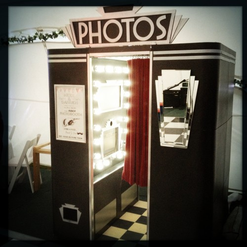 Vintage Photo Booth Art Deco Booth 1 – T...