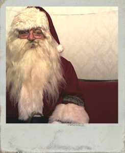 Santa, Father Christmas, Wedding Photobooth, Vintage, Hire