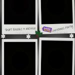 2. 6x4 slanted polaroids x4