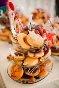 Erm, Krispy Kremes as wedding cake? I don't mind if I do, good Sir.